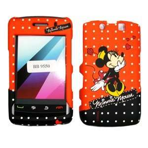 BLACKBERRY STORM 2 9550 MINNIE MOUSE RED POLKA DOTS DESIGN