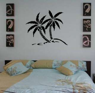 Palm Trees Removable Art Decor Wall Vinyl Decal Sticker