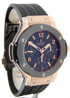 Hublot Big Bang 18k Rose Gold & Ceramic NEW Jewels In Time