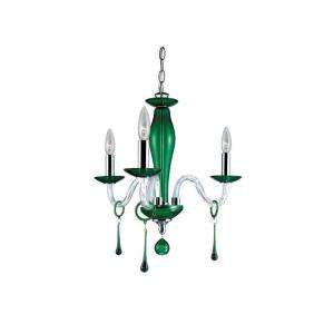 Hampton Bay Rottura 3 Light 88 In. Chrome Chandelier  DISCONTINUED