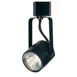 Hampton Bay Black Pinhole Cylinder Track Lighting Fixture EC7210BK at