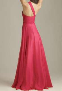 2012 NewElegant One Shoulder Womens Prom Evening Gown Dress
