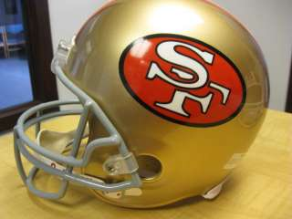 THIS IS A JOE MONTANA SIGNED AUTO FULL SIZE REPLICA HELMET. THE WINNER