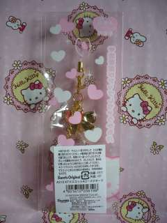 Sanrio Hello Kitty Gemstone Mobile Cell Phone Strap Charm Mascot NEW