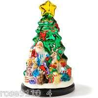 Thomas Pacconi Cl. Glass Christmas Tree Figurine