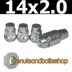 LOCKING ALLOY WHEEL LOCK NUTS FOR FORD TRANSIT