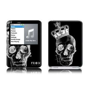 King Black Design Protective Decal Skin Sticker for Apple iPod nano