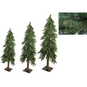 Woodland Alpine Artificial Christmas Trees 4 5 6