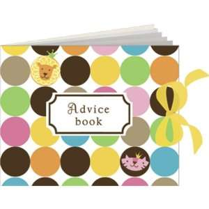 Queen of the Jungle Baby Shower Advice Book   Girl Baby