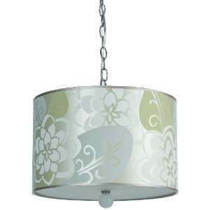 Candice Olson Lighting Mischief Hanging Pendant, Silver Beige