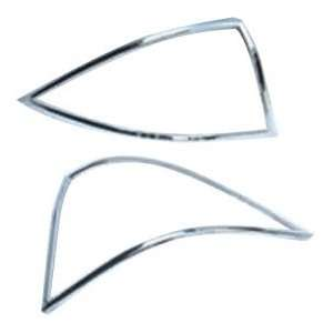 Custom Chrome Tail Lamp Cover Mercedes Benz C Clas
