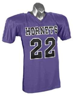Official Issue Nylon Custom Football Game Jerseys PURPLE