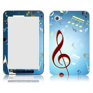 Bundle Monster Samsung Galaxy Tab 7.0 Vinyl Skin Cover Art