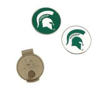 Michigan State Spartans NCAA Hat Clip & Ball Marker