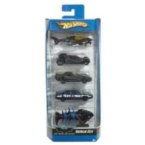 Mattel Hot Wheels 2006 164 Scale Batman Begins Gotham City 5 Pack Die