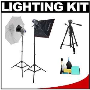 Interfit INT182 EX150 Mark II Two Head Home Studio Lighting Flash Kit