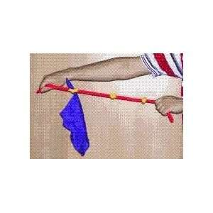 Jumping Silk On Rope   Silk / Stage / Magic Trick Toys
