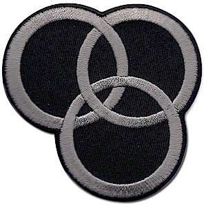 Led Zeppelin Swan Song Logo Iron On Patch Clothing