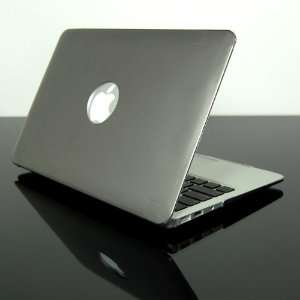 TopCase Metallic Solid Gray Hard Case Cover for NEW Macbook Air