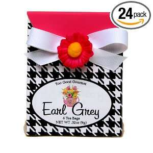 Tea In Houndstooth And Pink Gift Box, .32 Ounce Boxes (Pack of 24
