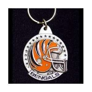 NFL Team Helmet Key Ring   Cincinnati Bengals Everything