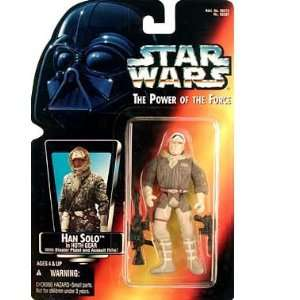 Red Card 3 3/4 Han Solo in Hoth Gear Action Figure Toys & Games