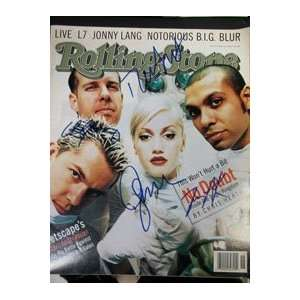 Signed No Doubt Rolling Stone Magazine 5/1/97 Sports