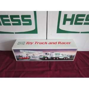 1988 Hess Toy Truck with Race Car