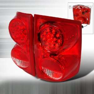 Dodge Dodge Dakota Led Tail Lights /Lamps   Red Performance Conversion