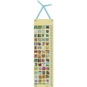 Animal Alphabet Growth Chart by Maria Carluccio Toys & Games