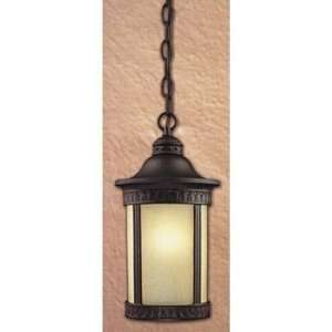 Westinghouse 67545   1 Light Textured Black Ceiling Pendant Light