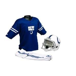 Indianapolis Colts Kids/Youth Football Helmet Uniform Set