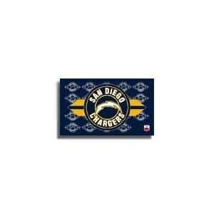 San Diego Chargers   NFL Endzone Flags Patio, Lawn & Garden