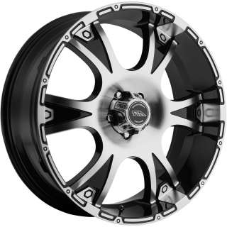 18 BLACK AMERICAN RACING WHEELS RIMS SIERRA SILVERADO TAHOE GMC YUKON