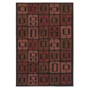 Shaw Angela Adams Munjoy Black 08500 Contemporary 52 x 79 Area Rug