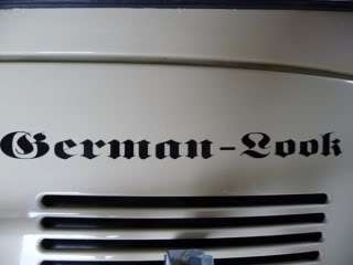 German Look Sticker Decal for VW/Volkswagen Beetle Bus