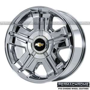 CHEVROLET TRUCK SILVERADO AVALANCHE TAHOE 1500 CHROME WHEELS RIMS