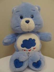 Care Bears Grumpy bear plush TCFC 2002 13 NEW without tags