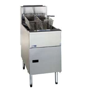 Pitco Gas Solstice Premium Commercial Deep Fryer   Tube