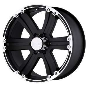 Black Rhino Wheels Dune Series Matte Black Wheel with Machined Lip