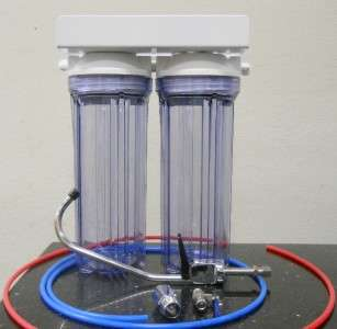 Filter System   Sediment & Carbon Filter, 2 Stage Clear Housing