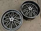 RUFF RACING 947 22 BLACK RIMS WHEELS CLS 63 AMG / 22 X 9.0/10 5H +15